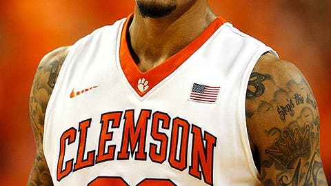 Suns (from Indiana): K.J. McDaniels, SF, Clemson