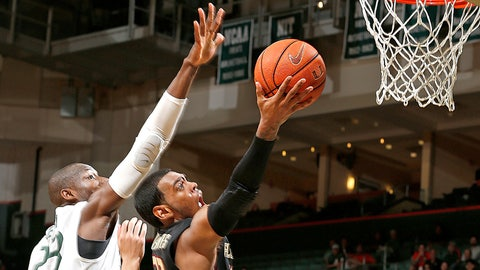 25. FSU's Xavier Rathan-Mayes scores 30 points in less than 5 minutes