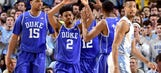 Third-ranked Duke completes regular-season sweep of rival UNC
