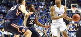 No. 1 Kentucky steamrolls past Auburn into SEC final