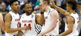 No. 4 seed Maryland holds off Valparaiso with late swipe