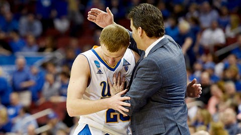 If Iowa upsets Gonzaga on Sunday, we're going to have four straight days of buildup of Steve Alford stories.