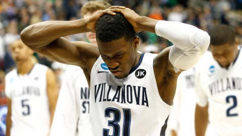 Speaking of Villanova, we got another lesson in 'live by the 3, die by the 3.'