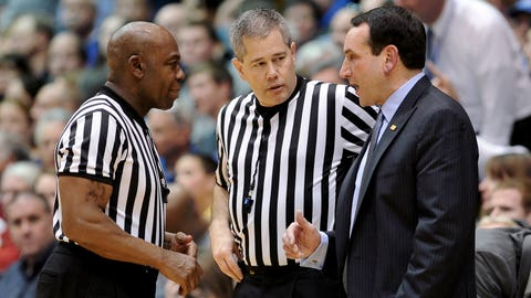 Consider how much the refs love them