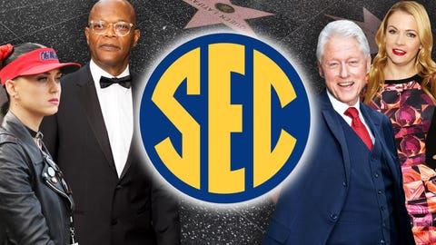 Celebrity fans of the SEC