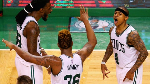 Boston Celtics: Isaiah Thomas, Al Horford, Marcus Smart