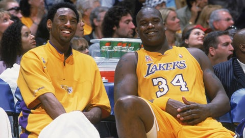 Shaquille O'Neal, Lakers, 2000-01