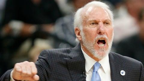 Gregg Popovich, San Antonio Spurs