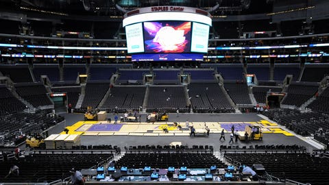 July 2011: Lockout spells big cuts to Lakers staff