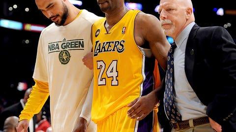 Kobe Bryant tearing his Achilles'
