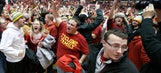 Another No. 1 goes down in state of Iowa as Cyclones dethrone Sooners