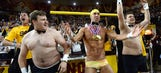 Michael Phelps assists Arizona State's 'Curtain of Distraction'