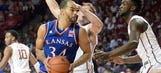 Kansas jumps to No. 2 in latest AP poll; Villanova still No. 1