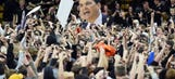 Arizona coach's court-storming warning: Player 'is going to punch a fan'