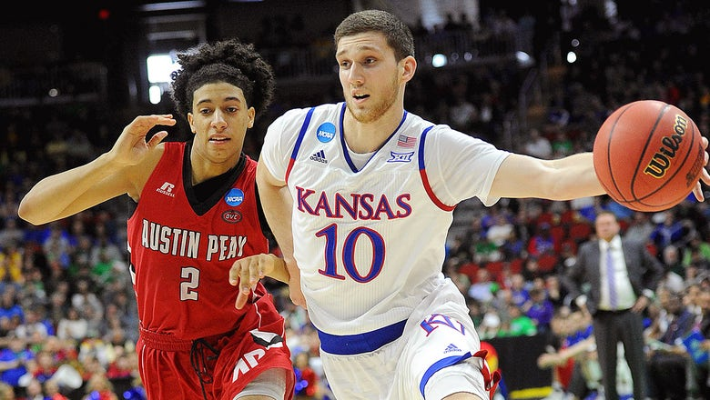 No. 1 seed Kansas gets career high from unexpected hero in opener
