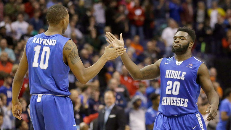 Middle Tennessee State's upset rivals the biggest ever in the NCAA tourney