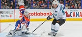 Oilers goalie Scrivens sets record with 59-save shutout vs. Sharks