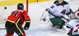 Backlund's OT goal lifts Flames over Wild 4-3