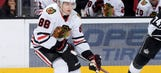 Red-hot Kane on blistering pace for Blackhawks