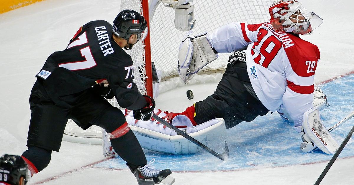 7300ed2ad0d18 Carter s hat trick leads Canada past Austria 6-0