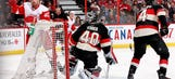 Franzen, Wings put on a show in Ottawa