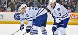 Memo to James van Riemsdyk: Beware your freight train of a teammate