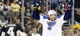 Finals preview? Blues clamp down for shutout win over Penguins