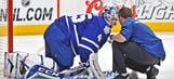 Toronto goalie Jonathan Bernier has surgery for sports hernia