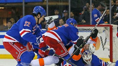 Rough-and-tumble hockey