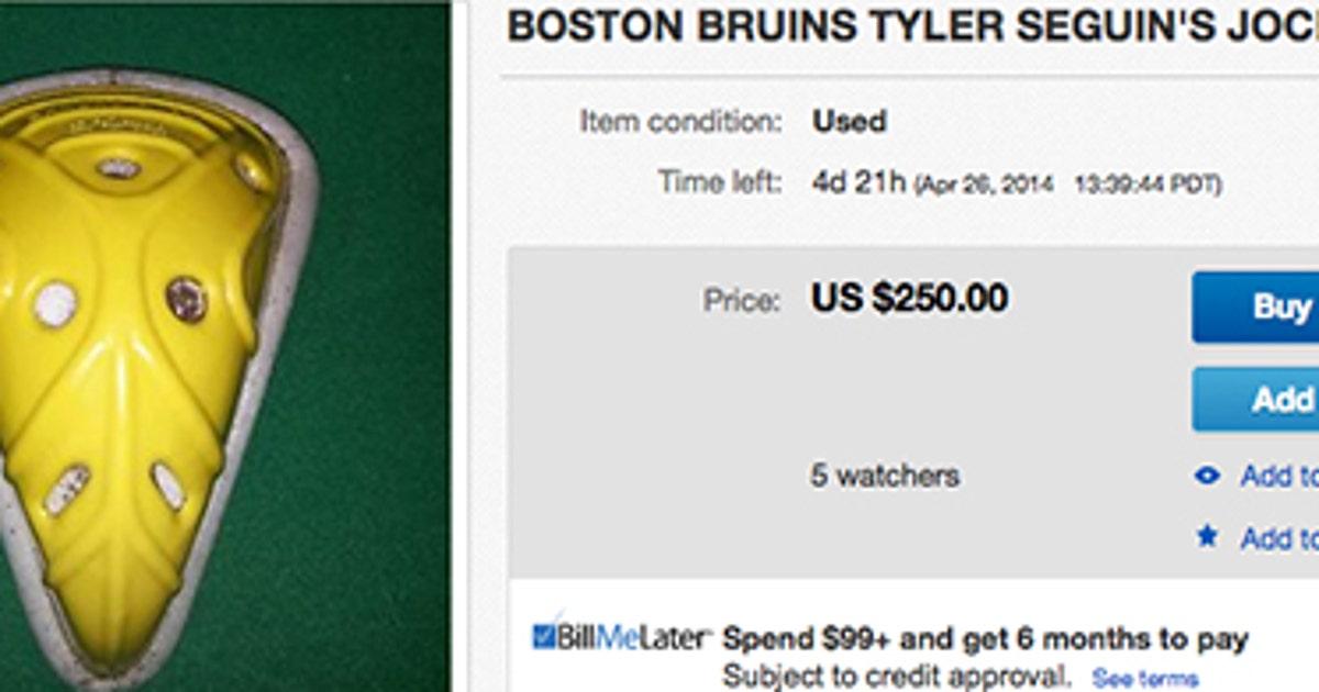 3152b91dc89 You can buy an NHL player's game-worn jock on eBay | FOX Sports