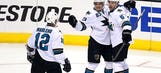 NHL takeaways: Sharks on verge of second round