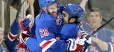 Rangers beat Flyers to take 3-2 series lead