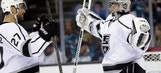 Kings complete comeback from 3-0 deficit, eliminate Sharks in SJ