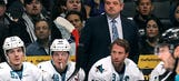 Sharks stick with GM Wilson, coach McLellan after playoff meltdown