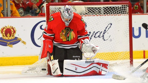 Corey Crawford, Chicago
