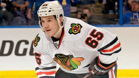 Andrew Shaw -- Round 5, 2011; 139th overall by Chicago Blackhawks