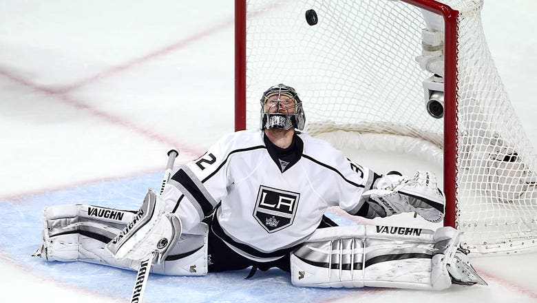 Want to play goalie for the LA Kings? Now's your chance!