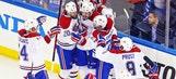 Galchenyuk nets OT goal, Canadiens beat Rangers in Game 3