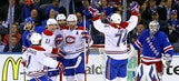 Habs grab crucial road win in OT, stun Rangers at Garden