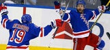 NHL takeaways: Rangers fly spirit of St. Louis to OT win