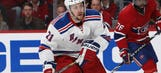Rangers' Stepan plays Game 5 of ECF with protective mask