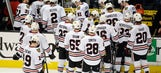 Blackhawks running on fumes as Kings have finish line in sight