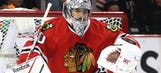 Crawford babysits, plays hockey with young Blackhawks fan