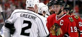 Toews says he watched Kings win Cup and 'let that sink in'