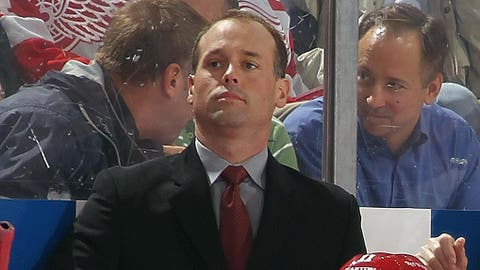 Stage set for Wings to name Blashill coach after Griffins' season ends