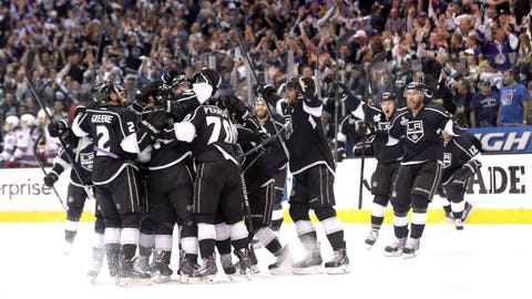 Game 1 to the Kings