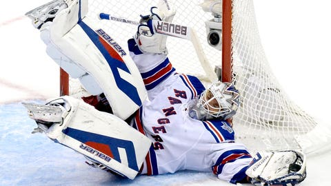 Henrik Lundqvist -- Round 7, 2000; 205th overall by New York Rangers