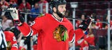 Blackhawks trade forward Bollig to Calgary for pick