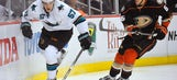 Sharks end skid in fight-filled 4-1 win over Ducks