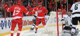 Nyquist, Datsyuk lead Red Wings over Kings 5-2